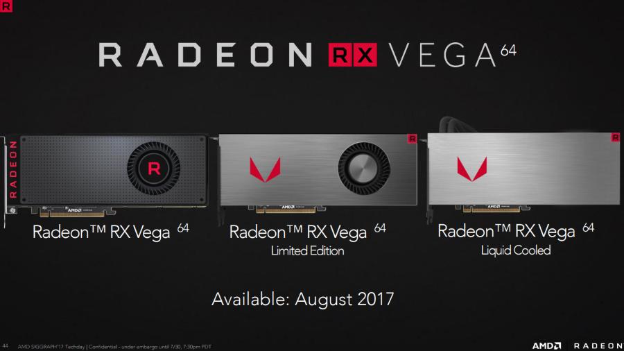 AMD Radeon RX VEGA 5 13XXX